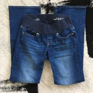 Gap Maternity Sexy Boot Jeans, 27/4r